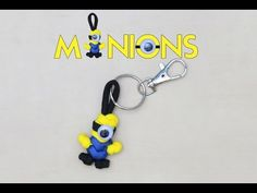How to make a Minions paracord Keychain - YouTube