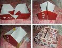 Resultado de imagen de manualidades caja zapatos carton