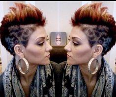 17 hele pittige faux hawk haarstijlen voor dappere dames!