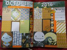 My this week theme Halloween theme