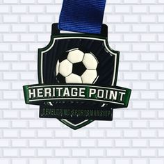 @ultimatepromotions posted to Instagram: The @heritagepointcl wanted to take a different approach to their soccer medal and choose to go with a #softenamel medal using our #blackdye process for #electroplating.  This process lets the #black become part of the final product.  #blackdye  #custommedals #sportsmedals #customracemedals #customawards #hockeycoach #soccercoach #hockeydadlife #hockeymomlife #hockeycoach #hockeycoachlife #coaching #soccercoachlife #heritagepoint Sports Medals, Hockey Coach, Custom Awards, Soccer Coaching, Pin Logo, Enamel, Black, Instagram, Soccer Training