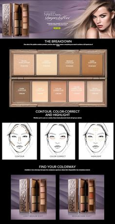Make Up Hot and New: Personalize Your Face with Urban Decay's NAKED ski...
