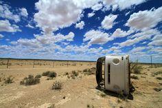 Car in the desert - Namibia by Benjamin Nocke on 500px