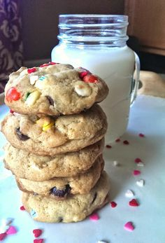 Cheesecake Pudding {Chocolate Chip, M&M} Cookies – The Baking ChocolaTess