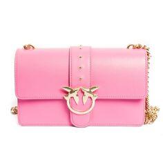 PINKO Fuchsia Mini Bag 1p2163 mini love 10 via Polyvore featuring bags e8eb0d4bbdd
