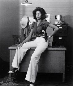 Pam Grier as Sheba Shayne in SHEBA BABY – 1975