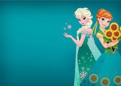 Frozen Fever: Invitaciones para Imprimir Gratis. Frozen Fever Party, Frozen Birthday Party, 3rd Birthday, Frozen Film, Frozen Art, Frozen Theme, Anna E Elsa, Modern Disney Characters, Frozen Summer