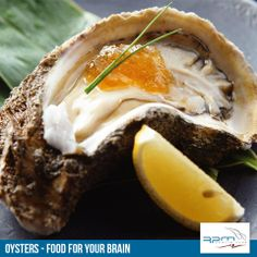Oyster with Lemon Vanilla Gelee Wellness Tips, Health And Wellness, Health Tips, Shell, How To Eat Better, Days Of The Year, Cheesesteak, Seafood, Vanilla