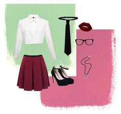 """""""Casual"""" by phoebe-mae20 on Polyvore featuring RED Valentino, Lime Crime, Muse and NOVICA"""