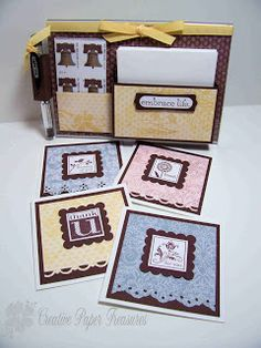 Creative Paper Treasures - Acrylic Gift Card Holder Tutorial