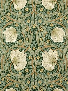 Buy Sanderson Wallpaper, Morris & Co Pimpernel, Privet / Slate, 210389 online at JohnLewis.com - John Lewis