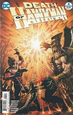 Death of Hawkman # 4 DC Comics
