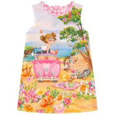 Printed dress - 174026