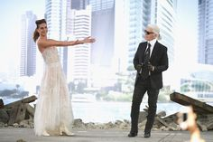 Take a look back at the supermodels turned brides who Karl Lagerfeld chose to close the Chanel Couture shows, from Linda Evangelista to Lily-Rose Depp, here. Karl Lagerfeld, Couture Chanel, Lily Rose Depp, Inspirations Magazine, Erin Wasson, Linda Evangelista, Claudia Schiffer, Kendall Jenner, Supermodels