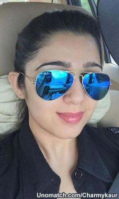 Mirrored Sunglasses, Sunglasses Women, Charmy Kaur, Personal Photo, Actresses, Photos, Fashion, Female Actresses, Moda