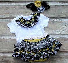 Ruffle Bloomer Set, Baby Ruffle Diaper Cover, Holiday Ruffle Bloomer Toddler 5686 NL