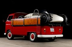 TheHalifaxJungle - coolerthanbefore: 1964 VW Bus race transporter...