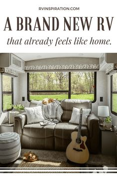Keystone Now Offers A Bright, Modern, RV Interior Option Keystone Bullet, Keystone Rv, Rv Living, Living Spaces, Tiny Living, Fall Home Decor, Autumn Home, Rv Interior, Interior Design