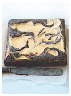 cheesecake swirl chocolate brownie