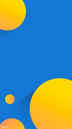 Blue Wallpaper Iphone, Apple Wallpaper, Mobile Wallpaper, Beautiful Wallpapers For Iphone, Blue Wallpapers, Pink Abstract, Abstract Shapes, Instagram Frame, Yellow Art