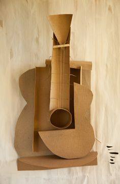 After PicassoIn the House of Cardboard, it's possible to own your favorite works of art.dosshaus 2014made of cardboard, string and glu...