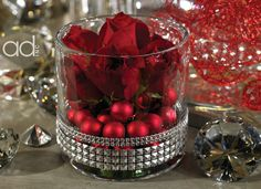 Christmas wedding - Designed by John Hosek  Products by Accent Decor