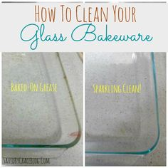 How To Clean Pyrex Glass Baking Dishes