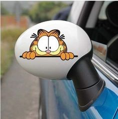 Dropping Funny Garfield car stickers high quality funny vinyl wrap reflective tape for chevrolet cruze volkswagen $2.80 - 15.80