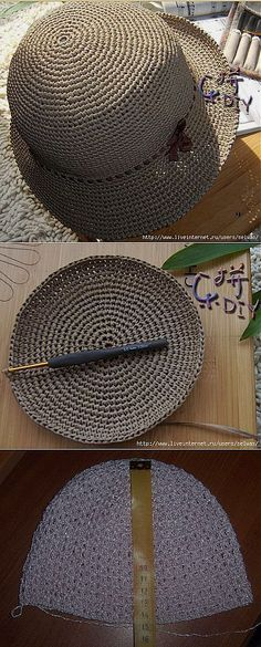 Lemon Blouse Crochet - Tug Can Bonnet Crochet, Crochet Cap, Crochet Beanie, Love Crochet, Crochet Stitches, Knitted Hats, Crochet Tote, Sombrero A Crochet, Knitting Patterns