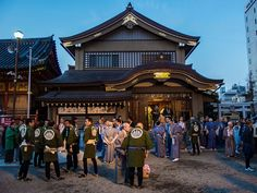 """Asakusa Jinja Doage 1/9 March 17 is a big day for Asakusa Jinja shrine and Asakusa in general: it is the eve of the anniversary of the founding of Sensoji Temple so the three kami enshrined in the Asakusa Jinja are brought to Sensoji (in their omikoshi divine palanquins). This is called """"doage"""" i.e. """"going up the temple"""" and the shrine's community had gathered from early in the evening to make it happen. #Asakusa, #Jinja, #doage, #Sensoji, #omikoshi March, 17 2015 © Grigoris A. Miliaresis"""