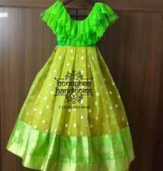 Long Dress Design, Girls Frock Design, Kids Frocks Design, Baby Frocks Designs, Baby Dress Design, Kids Lehanga Design, Lehanga For Kids, Kids Dress Wear, Kids Gown