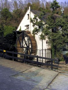 Old mill, now a pub. Polperro, Cornwall