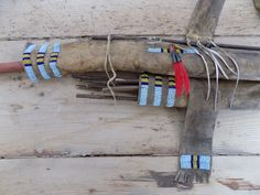Plains style bowcase and quiver, detail, offered by ebay seller indianvillage.italy