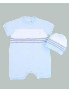 Outfit: Spieler und Mütze in hellblau/ weiß/ grau