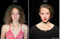 Experiência: pessoas fotografadas com 12 horas de diferença