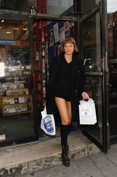 Chloe Sevigny out in NYC, November 26th    Legs for days!