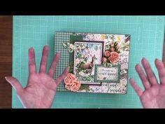 Mini Albums Scrap, Mini Scrapbook Albums, Handmade Books, Graphic 45, Masculine Cards, Woodland, Friends Youtube, Scrapbooks, Crafting