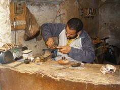 Artisan in Morocco
