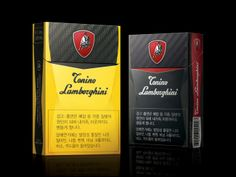 Tonino Lamborghini Cigarettes   Packaging of the World: Creative Package Design Archive and Gallery