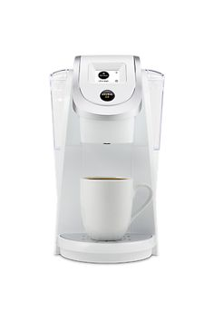 YOUR FAVORITES. YOUR WAY. The Keurig 2.0 K250 Brewing System (White) features revolutionary Keurig 2.0 Brewing Technology. Choose over 500 different K-Cup pod varieties, from 75 brands. It's our most compact Keurig 2.0 brewer, and it's available in seven colors!