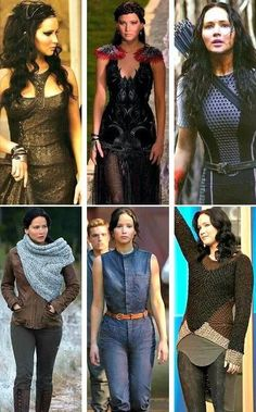 Katniss, catching fire outfits