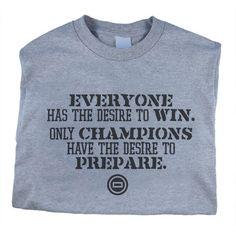 Worldwide Sport Supply Champions Desire Wrestling T-Shirt