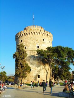 white tower Thessaloniki Greece by Alexandra Fakiri on 500px
