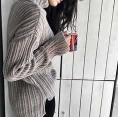Krem Balıkçı Yaka Örme Kazak Detaylar www.fashionturca.com