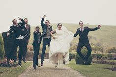 Wedding jump. www.elina-photography.com