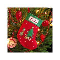 Chaussette de Noël personnalisable pour les petits et les grands :)