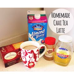 Homemade Chai Tea Latte, only 15 calories!