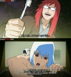When Karin got payback on Suigetsu by stealing his toothbrush AND what made her steal it in the first place...Poor Suigetsu!