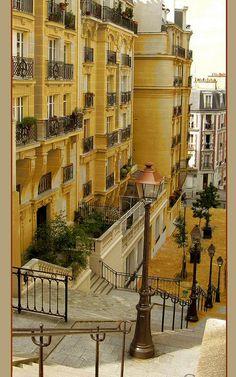 rue du Mont-Cenis - Paris 18e