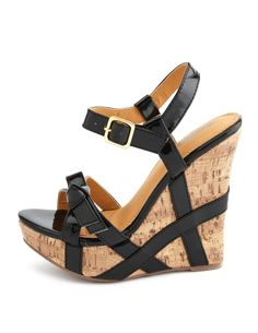 8732513fd6cc5 Shoes  Patent Bow Wedge Sandal